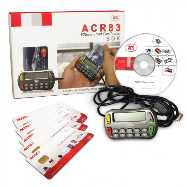 ACS ACR83 Smart Card Reader Drivers for Windows