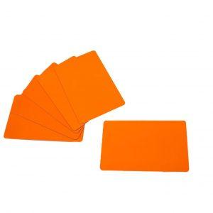 orange cards